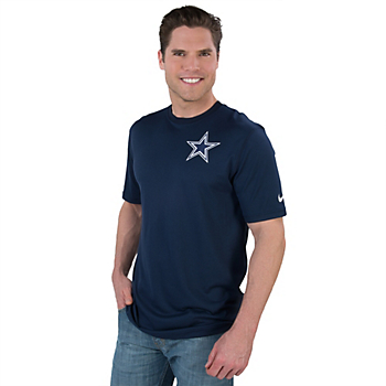 Dallas Cowboys Nike Stadium Touch Short Sleeve T-Shirt