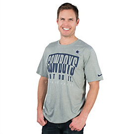Dallas Cowboys Nike Just Do It Legend Tee