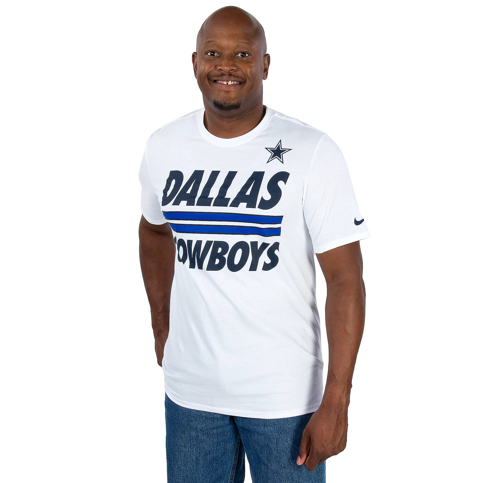 Dallas Cowboys Nike Team Stripe T-Shirt