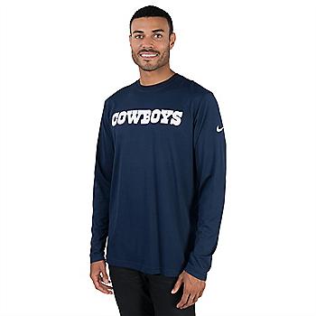 Dallas Cowboys Nike Stadium Touch Long Sleeve Top