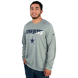 Dallas Cowboys Nike Legend Long Sleeve Staff Practice Tee