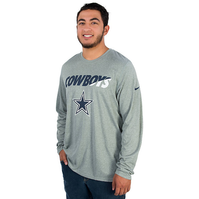 Dallas Cowboys Nike Legend Long Sleeve Staff Practice Tee