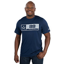 Dallas Cowboys Nike Legend Dez Bryant #88 Name and Number Tee