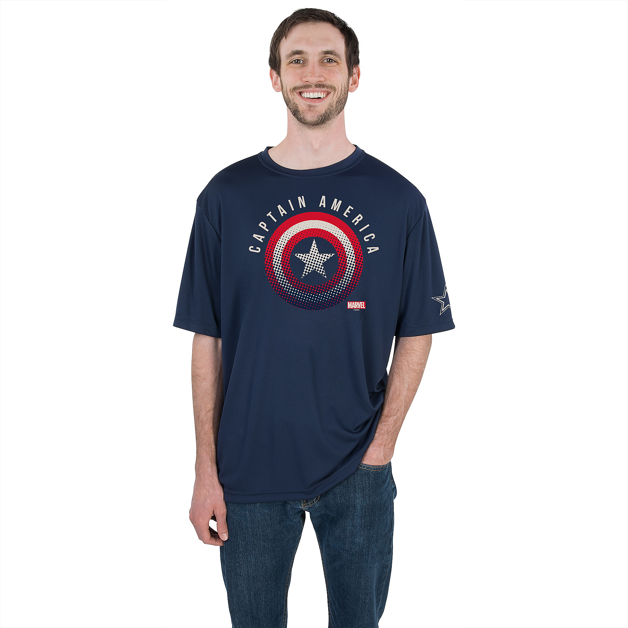 Dallas Cowboys MARVEL Shield Force Tee