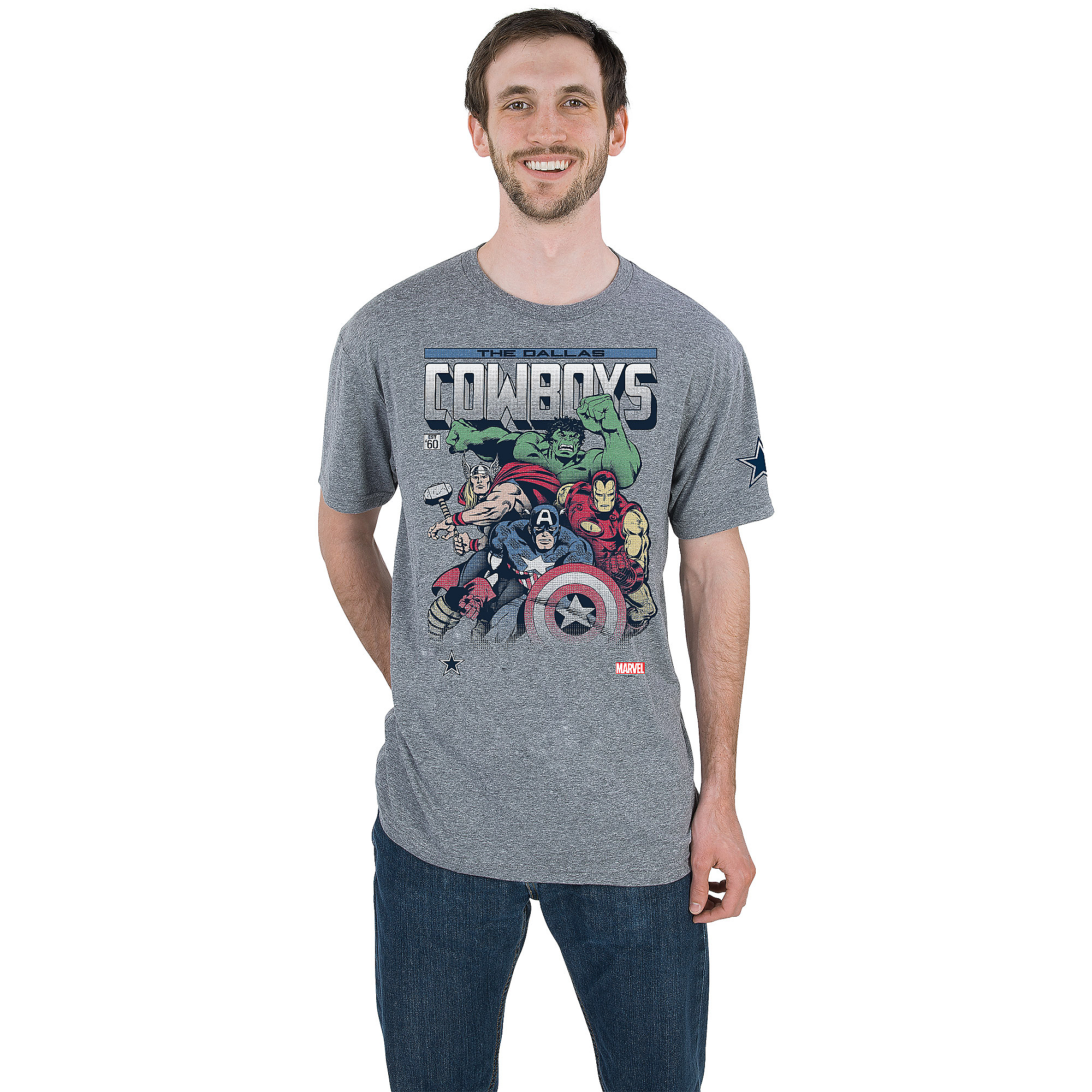 Dallas Cowboys MARVEL First Issue Tee