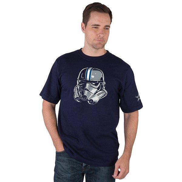 Dallas Cowboys Star Wars Mens Star Trooper Tee