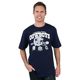 Dallas Cowboys Super 5 Time Tee