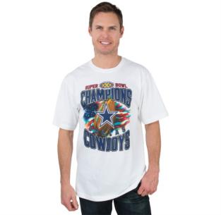 Dallas Cowboys Super Bowl XXX Champs '96 Tee