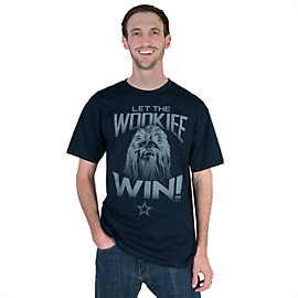 Dallas Cowboys Star Wars Wookies Win Tee
