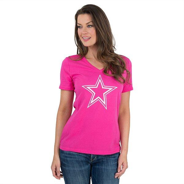 Dallas Cowboys Logo Premier Too V-Neck Tee