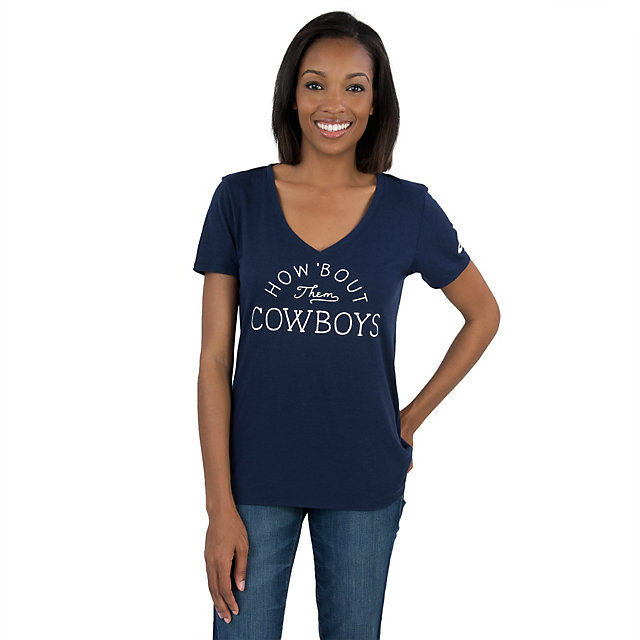 Dallas Cowboys Nike Womens Triblend Local Tee