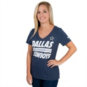 Dallas Cowboys Nike Womens Tri Team Stripe Tee