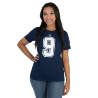 Dallas Cowboys Womens Tony Romo #9 Nike Player Pride Tee 2