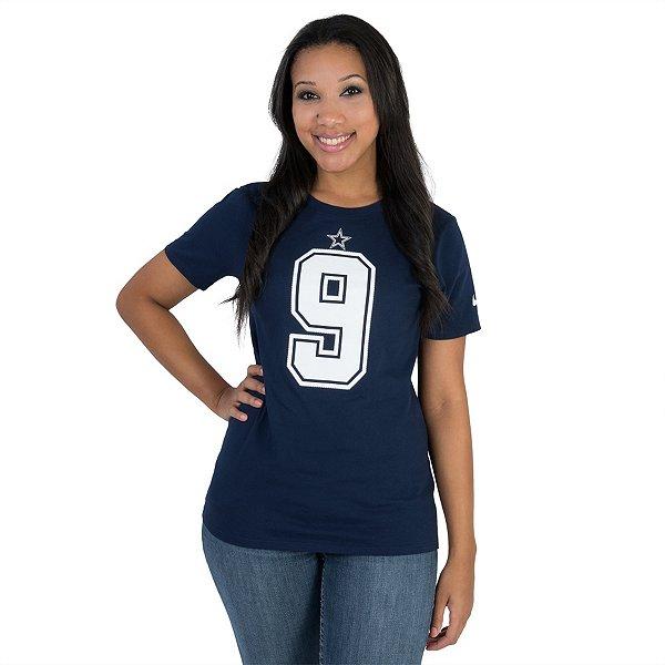 Dallas Cowboys Womens Tony Romo #9 Nike Player Pride Tee 2