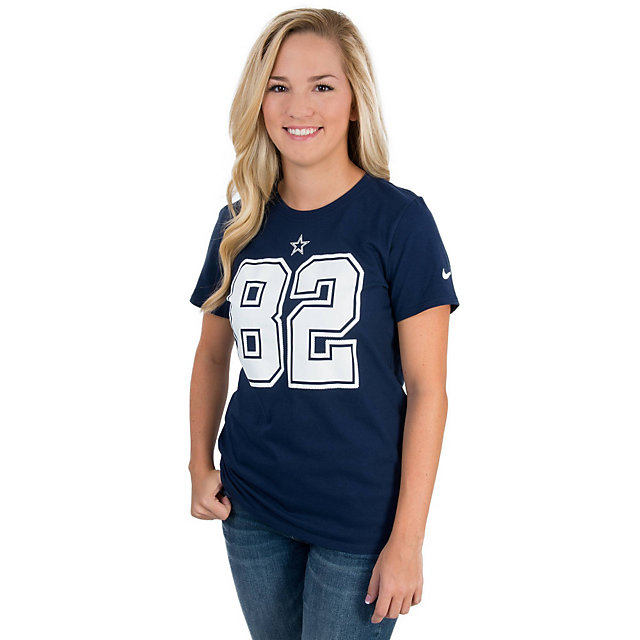 Dallas Cowboys Womens Jason Witten #82 Nike Player Pride Tee
