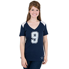 Dallas Cowboys Nike Prime Player Tony Romo #9 Name and Number Tee
