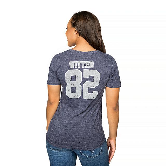 Dallas Cowboys Jason Witten #82 Dallas Name & Number Tee
