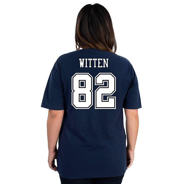 Dallas Cowboys Missy Jason Witten #82 Name and Number Tee