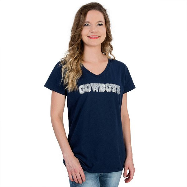 Dallas Cowboys Womens Bling Tee