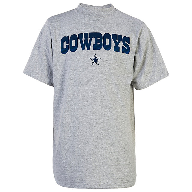 Dallas Cowboys Youth Fibrous Wordmark Tee