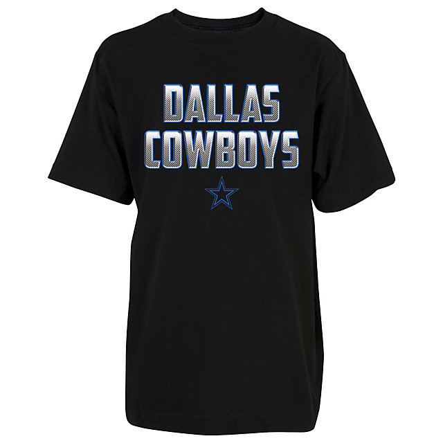 Dallas Cowboys Youth Electric Carbon Tee
