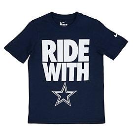 Dallas Cowboys Nike Youth Team Spirit Tee