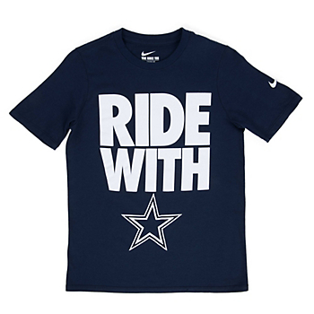 Dallas Cowboys Nike Youth Team Spirit Tee