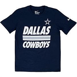 Dallas Cowboys Nike Youth Team Stripe Tee
