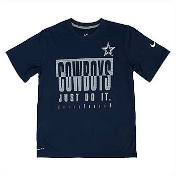 Dallas Cowboys Youth Nike Legend Just Do It Tee cf99d5add