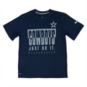 Dallas Cowboys Youth Nike Legend Just Do It Tee
