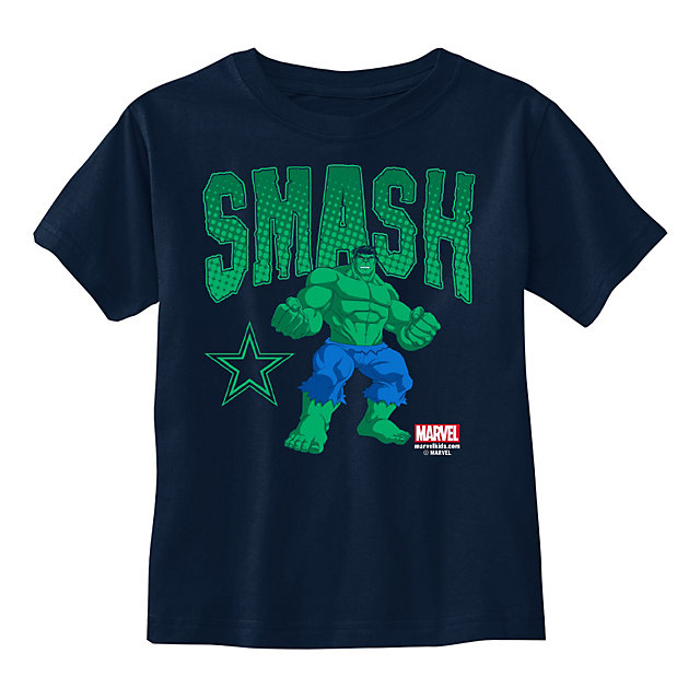 Dallas Cowboys MARVEL Kid Hulk Smash Tee