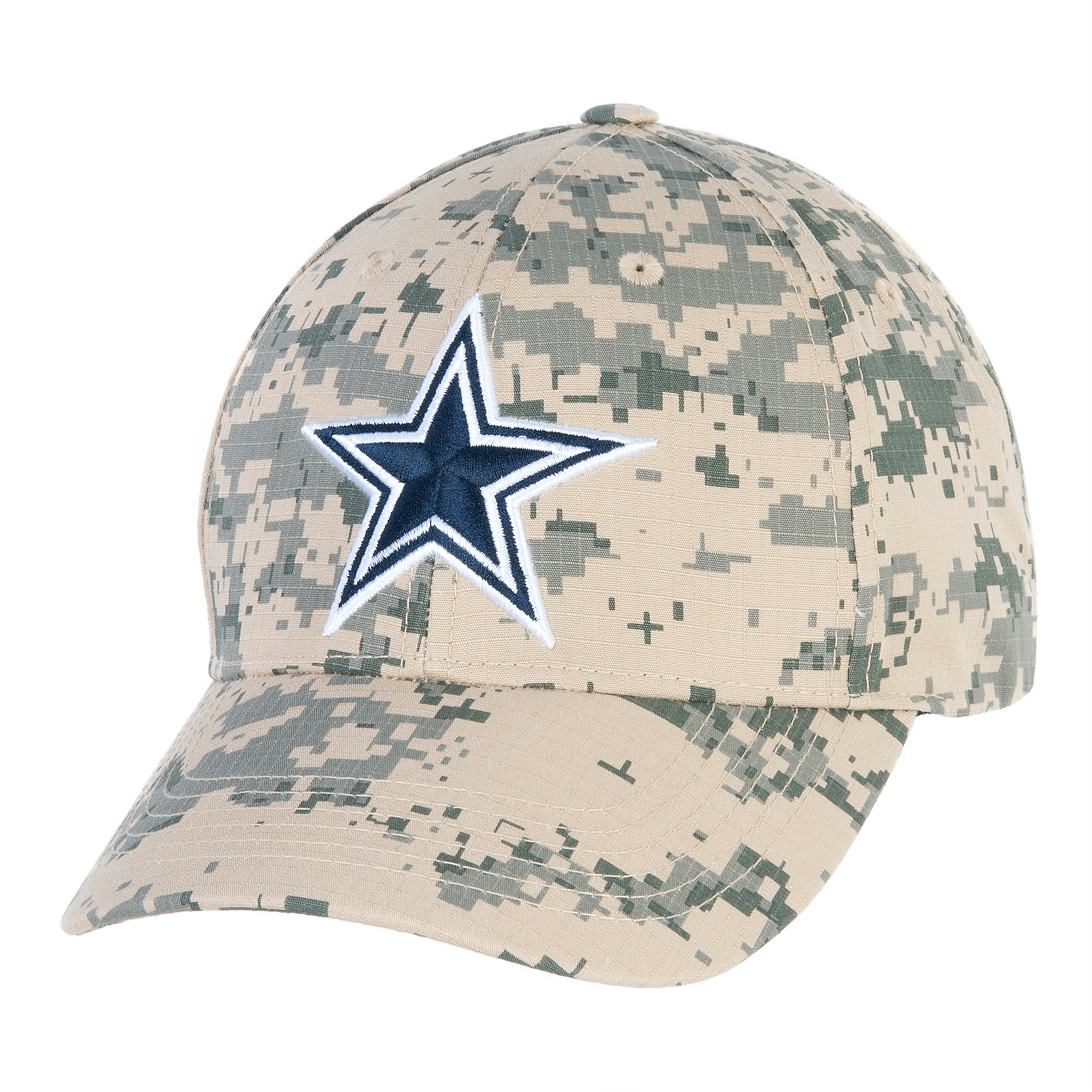 26e5403824 Dallas Cowboys Washed Digital Camo Cap
