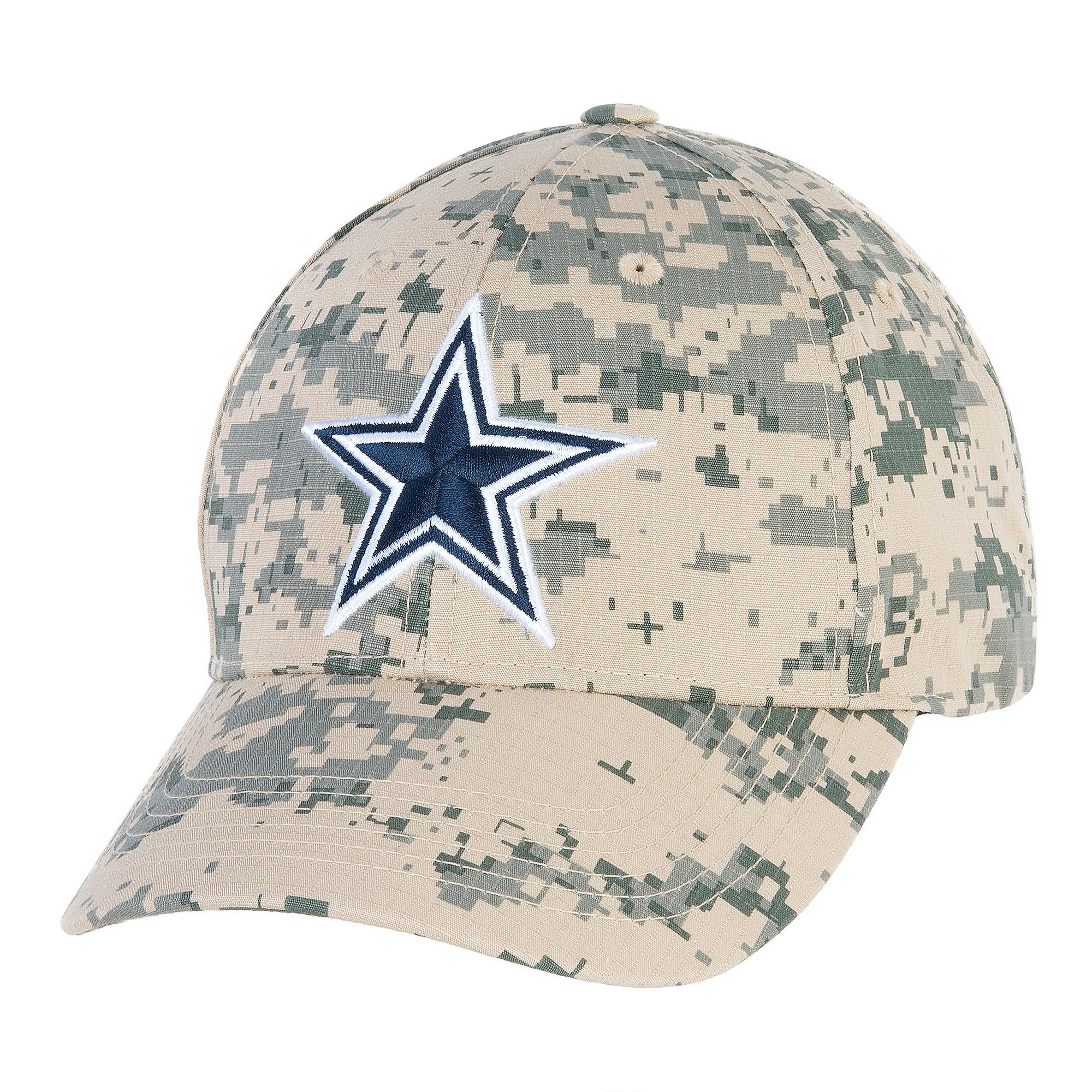 73a5cb725 Dallas Cowboys Washed Digital Camo Cap