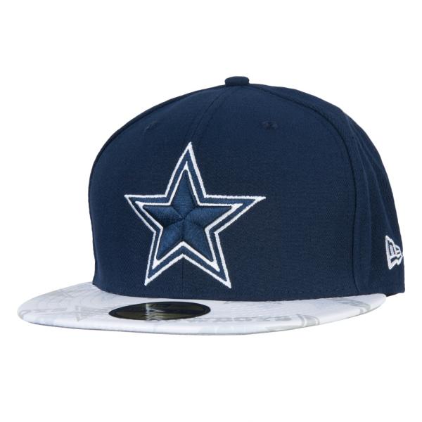 Dallas Cowboys New Era Clearvize 59Fifty Cap