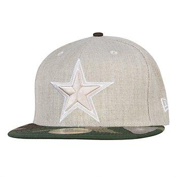 Dallas Cowboys New Era Heather 2Tone League Basic 59Fifty Cap