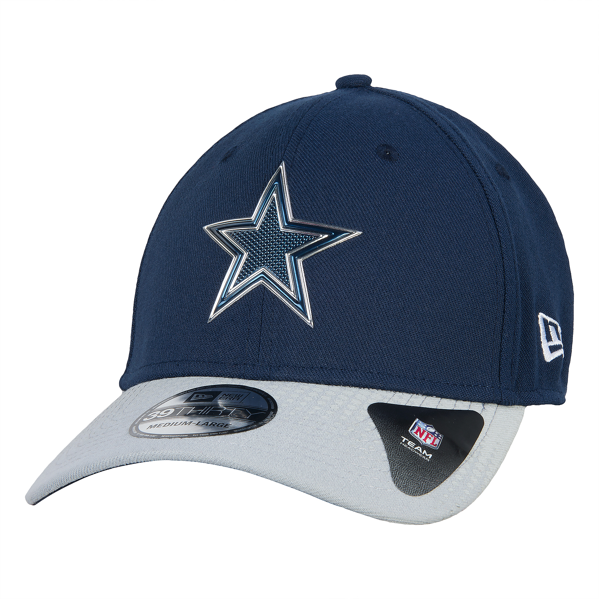 ... Dallas Cowboys New Era 2015 Draft 39Thirty ... 43bd253b16d