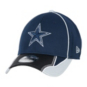 Dallas Cowboys New Era Pipe Force 39Thirty Cap