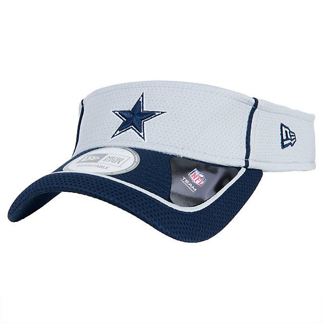 Dallas Cowboys New Era Energy Pipe Visor