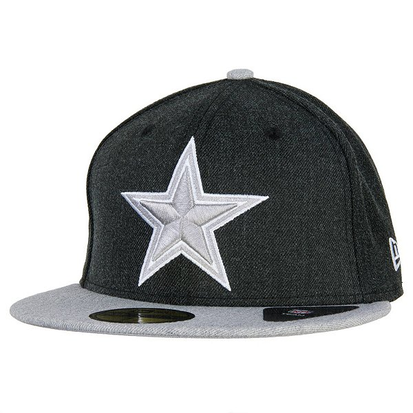 Dallas Cowboys New Era Heather Action 59Fifty Cap