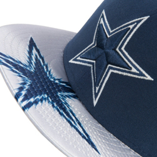 Dallas Cowboys New Era Visor Gleam 9Fifty Cap