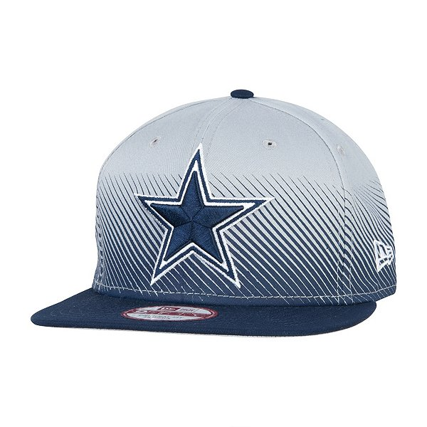 Dallas Cowboys New Era Line Fade 9Fifty Hat