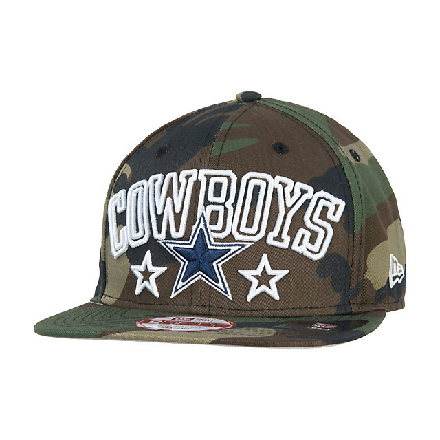 Dallas Cowboys New Era Star Up City 9Fifty Cap