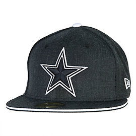 Dallas Cowboys New Era Heather Slice 59Fifty Cap