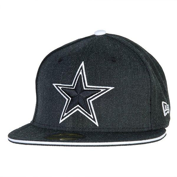 Dallas Cowboys New Era Heather Slice 59Fifty Cap