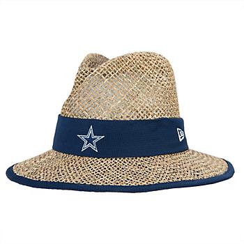 promo code 361cf 074bb Dallas Cowboys New Era Training Straw Hat