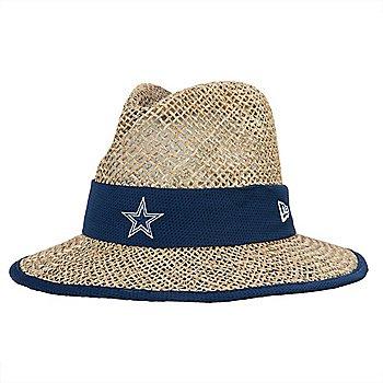 Dallas Cowboys New Era Training Straw Hat