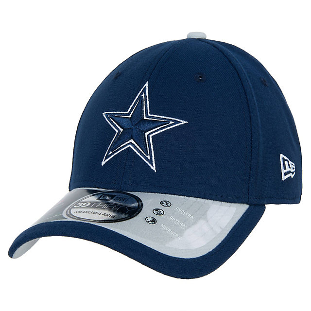 Dallas Cowboys New Era Navy Sideline 39Thirty Cap