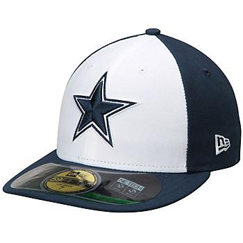 Dallas Cowboys New Era Sideline Low Crown 59Fifty Cap