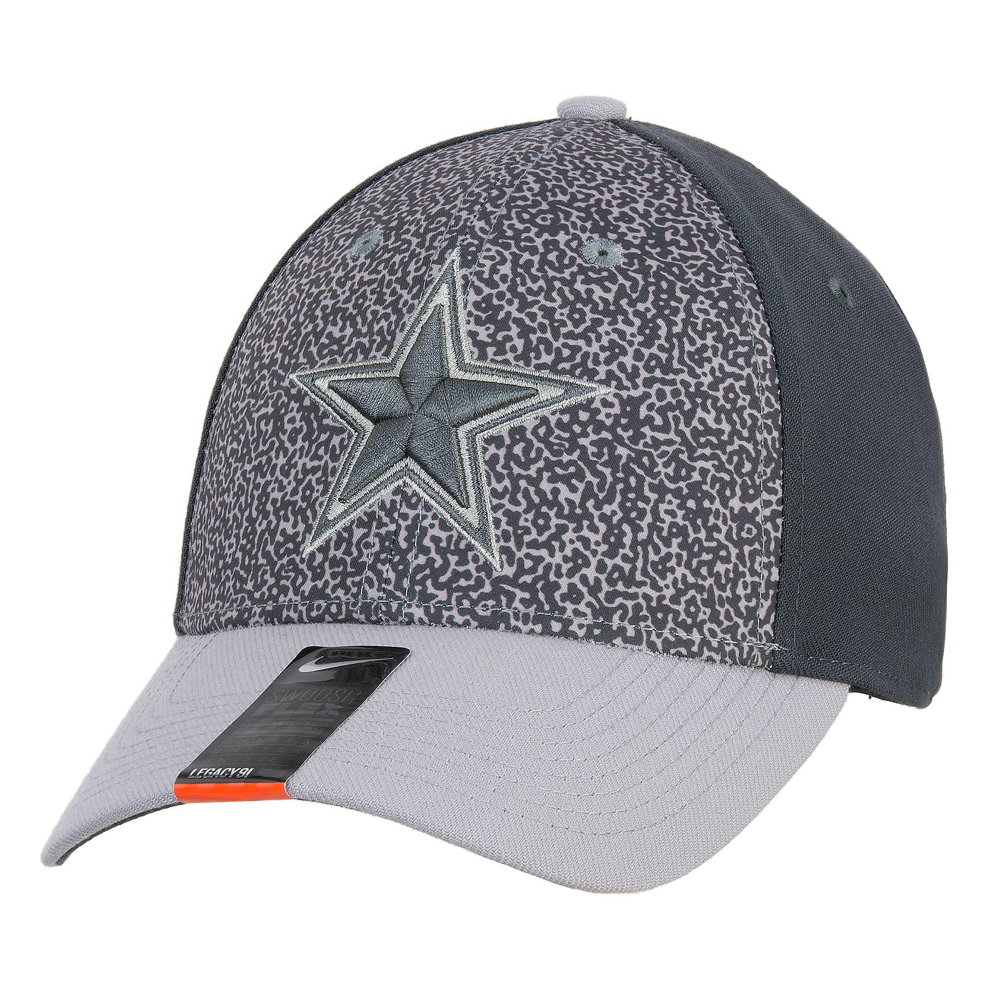 c468267719809 ... Dallas Cowboys Nike L91 Print Swooshflex Cap ...