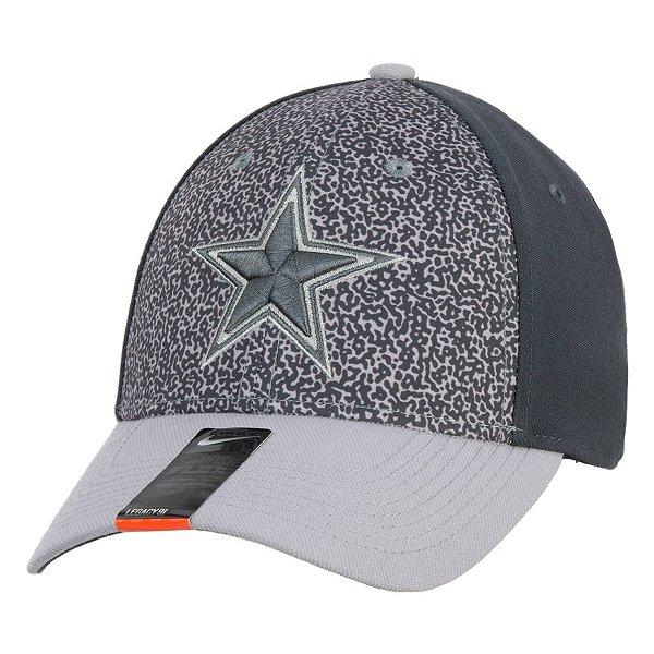 Dallas Cowboys Nike L91 Print Swooshflex Hat